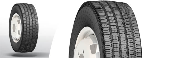 Anvelope Camioane 315/70 R22.5 154/150L NF-501